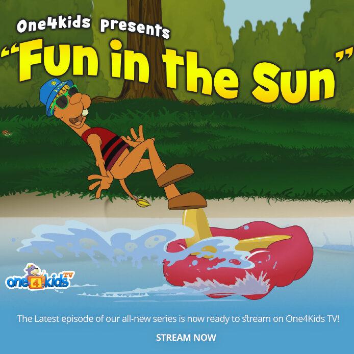 Kazwa & Bilal: Fun in the Sun | Streaming now at one4kids.tv