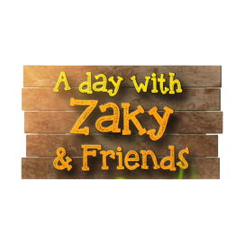 A day with Zaky and Friends